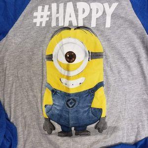 Minion Made Despicable Me #Happy Minion t-shirt